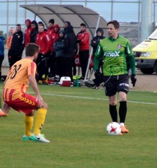 Deac a marcat singurul gol al meciului. FOTO Arhivă Facebook CFR Cluj
