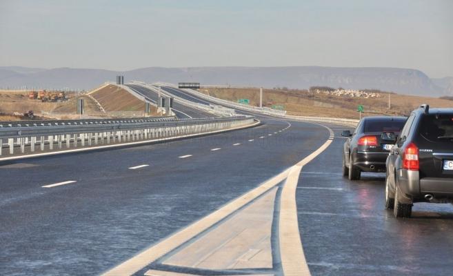 Restricţia de pe Autostrada Transilvania a fost anunţată şi în weekend. FOTO Arhivă