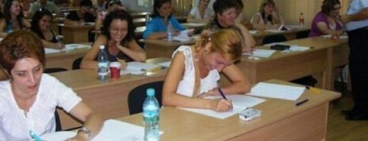 Profesorii clujeni rămân primii pe ţară la titularizare