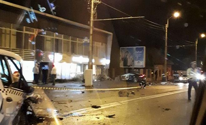 Accident pe strada Traian Vuia din Cluj-Napoca  Sursa foto Facebook Info Trafic Cluj