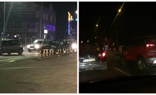 Sursă foto: Facebook Info Trafic jud. Cluj