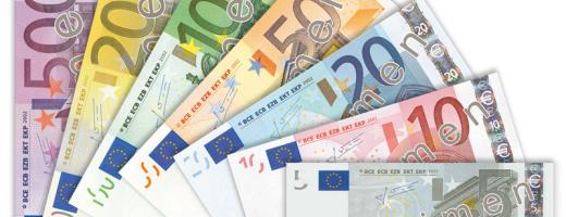 Euro a scăzut la minimul ultimelor șase săptămâni