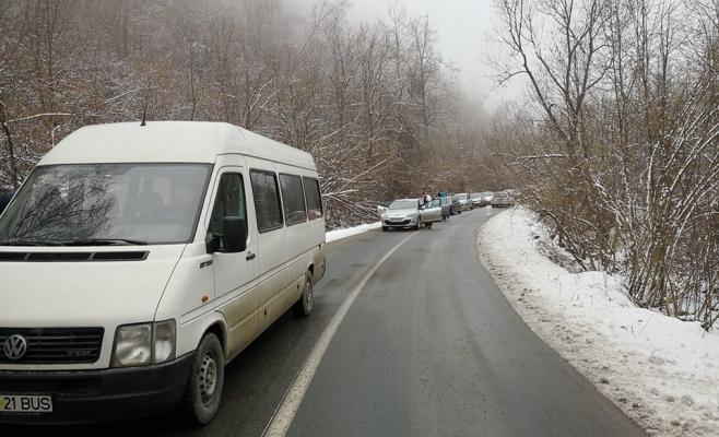 sursa foto Facebook Info Trafic jud Cluj