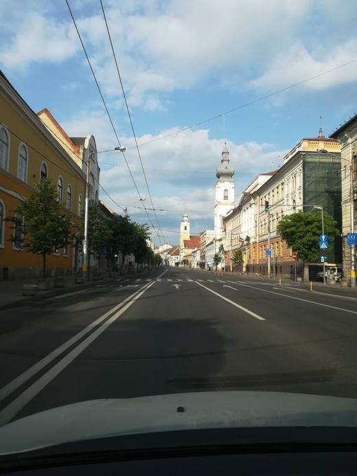 sursa foto Facebook Infotrafic jud. Cluj