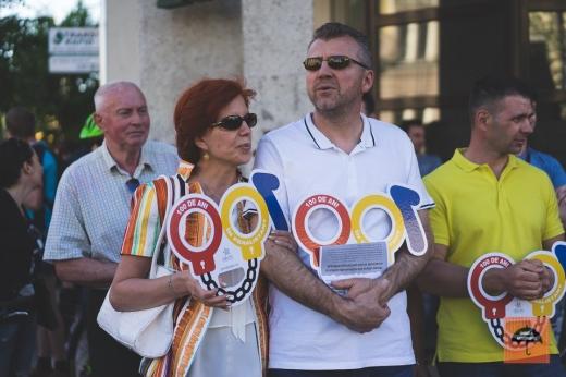 foto de Kilin Zsolt, Facebook Umbrela anticorupţie cluj