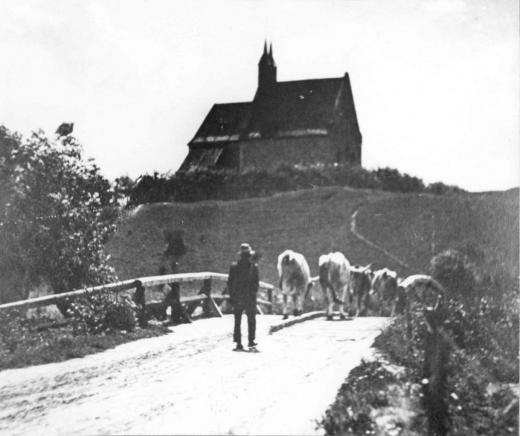 Biserica Calvaria din satul  clujean Mănăștur