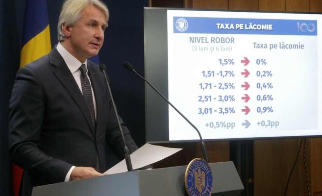 """Ministrul Finantelor, Eugen Orlando Teodorovici, inventatorul """"taxei pe lacomie"""", a pus ochii pe banutii copiilor. Foto: gov.ro"""