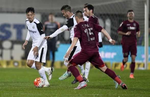 CFR Cluj a remizat acasă cu Astra, scor 1-1