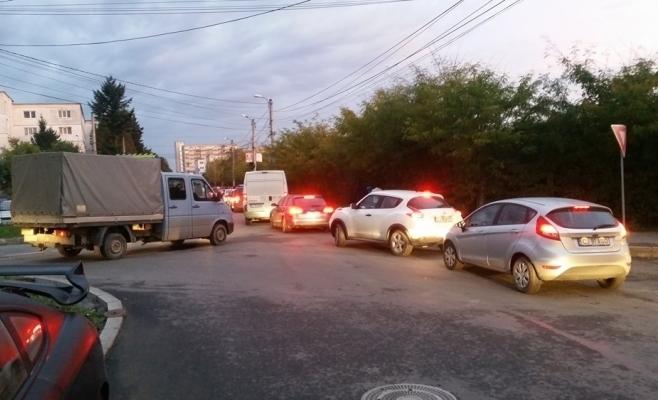 intersectie strazi Brancusi Borhanci