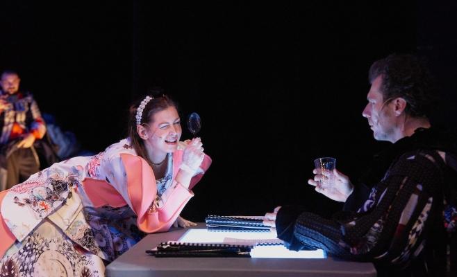 Scenă din spectacolul Las Meninas