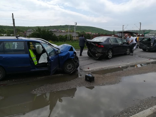 Accident Sânnicoara