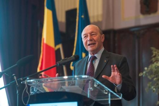 Fostul președine al României Traian Băsescu, liderul PMP, deschide lista de candidați pentru alegerile europarlamentare din mai 2019