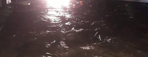 Cod portocaliu de inundații pe Crișul Repede