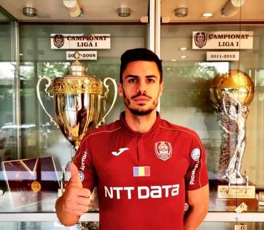 Mateo Susic în tricoul lui CFR Cluj