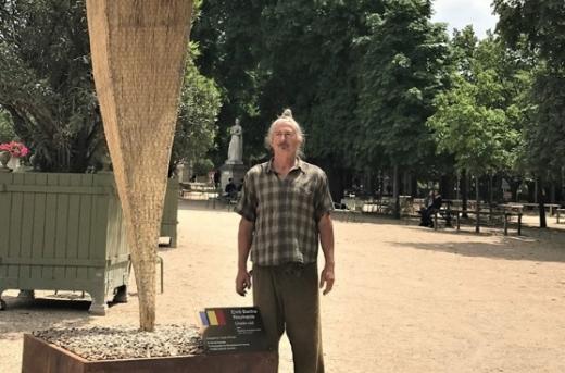 Sculptura artistului clujean Bartha Ernő, la loc de cinste în Jardin du Luxembourg