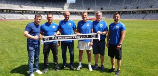 Noul staff al Universităţii Cluj