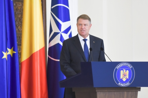 Klaus Iohannis, preşedintele României