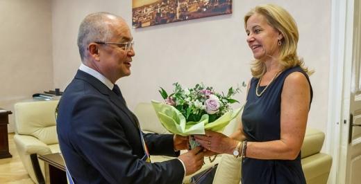 Ambasadorul Olandei în România și-a luat rămas bun de la Boc și Cluj-Napoca