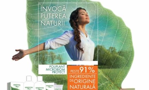 Farmec relansează Gerovital Plant – noua gamă are ingrediente de origine naturală și oferă protecție naturală microbiană (P)