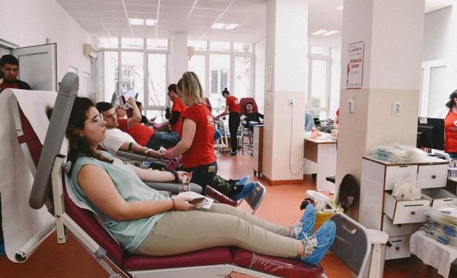 Sursă foto: Donează sânge, fii erou - OSM Cluj