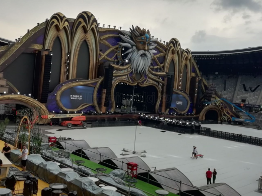 FOTO IMPRESIONANT! Imagini din tărâmul magic UNTOLD 2019: Scena principală, o BIJUTERIE!