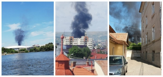 Incendiu PUTERNIC la Cluj-Napoca!