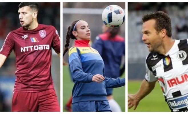 Clujul dă ora exactă în fotbalul românesc! Jucătorii clujeni au cules laurii la Gala AFAN