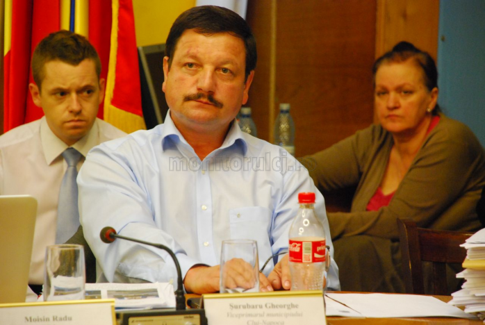 Gheorghe Șurubaru, viceprimarul municipiului Cluj-Napoca