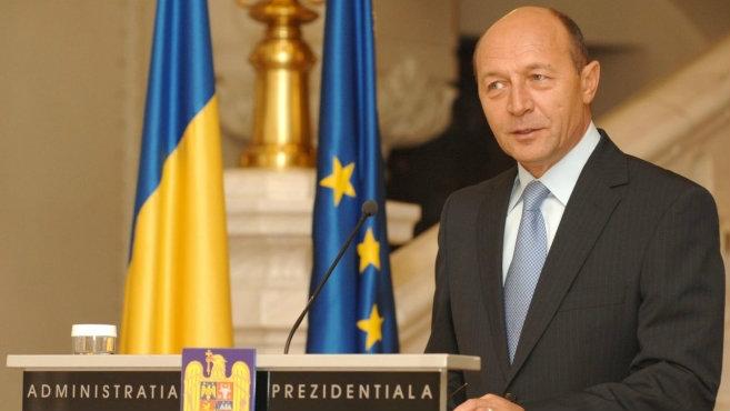Traian Basescu, Presedintele României