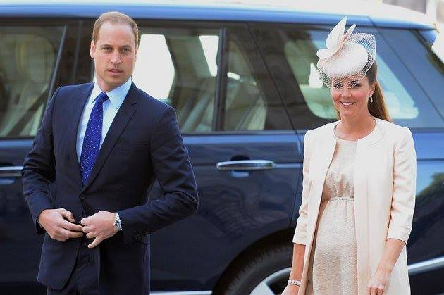 Catherine, soţia prinţului William, a fost internată în spital pentru a naşte