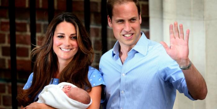 Primele imagini cu bebelușul regal