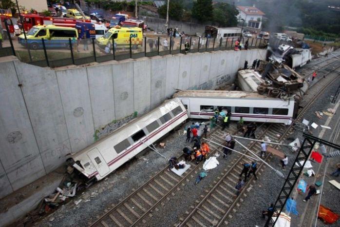 Un grav accident feroviar a avut loc miercuri seara în Spania