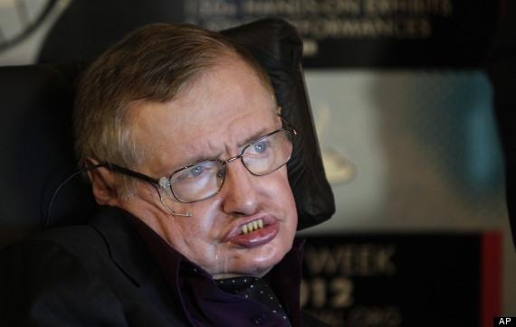 Stephen Hawking. Sursa foto:  huffingtonpost.co.uk
