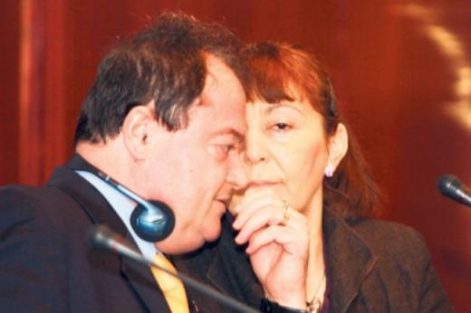 Monica Macovei a bătut palma cu Vasile Blaga pentru europarlamentare