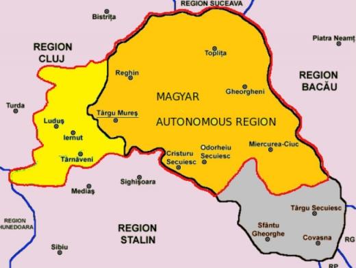 Regiunea Autonomă Maghiară în perioada lui Stalin