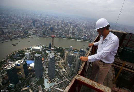 Shanghai Tower va fi cea mai înaltă clădire din China  - Sursă foto: dailymail.co.uk