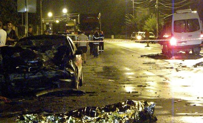 Accident cumplit în Turda (Sursa foto: turdanews.net)