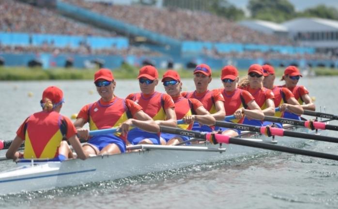Echipajul feminin de 8+1 al Românieia câştigat medalia de argint la Campionatul Mondial de canotaj de la Chungju (Coreea de Sud)