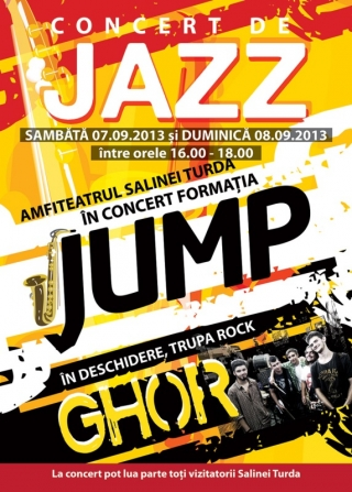 Concert de jazz în Salina Turda