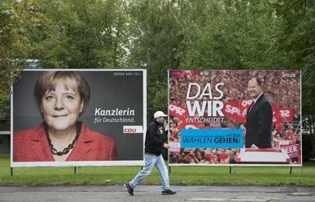 Angela Merkel a fost desemnată