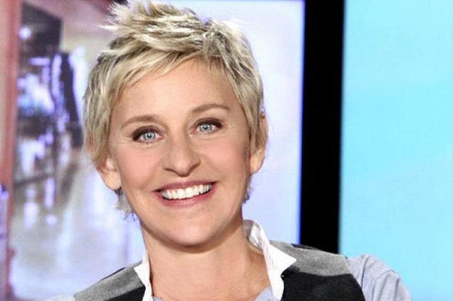 Moderatoarea TV Ellen DeGeneres a fost declarată cea mai simpatică femeie de la Hollywood