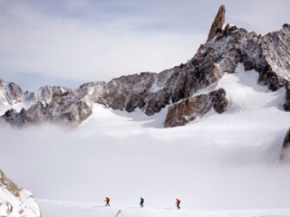 Smaralde, safire și rubine, descoperite de un alpinist pe Mont-Blanc