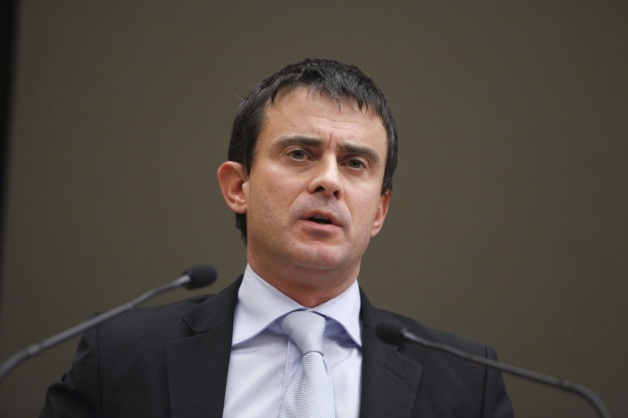 Ministrul de Interne francez Manuel Valls