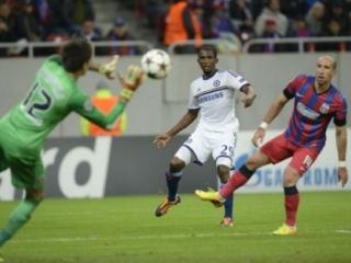 Steaua a înregistrat a doua înfrângere consecutivă în Liga Campionilor