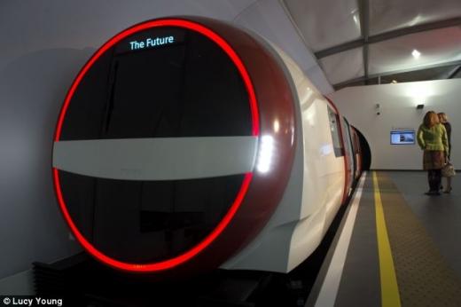 Cum ar putea arăta metroul viitorului - Sursa foto: dailymail.com
