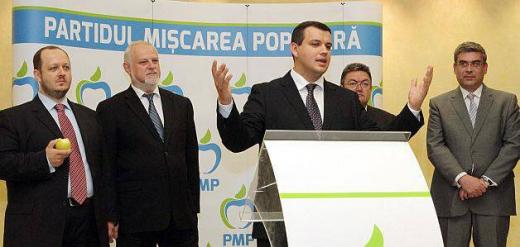 Preşedintele interimar al PMP, Eugen Tomac