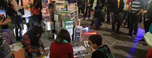 Proteste în Toronto împotriva proiectului de exploatare minieră de la Roșia Montană