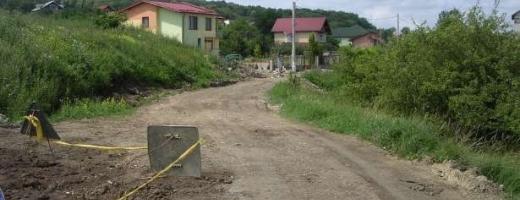 Strada Faget, reparata cu fonduri europene