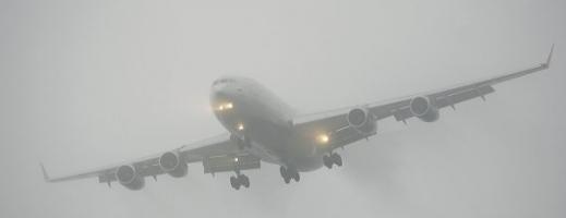 Cod Galben de ceață la Cluj. Transportul aerian este BLOCAT