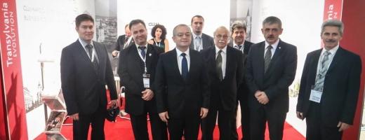 Emil Boc a susținut la Munchen proiectele Clujului